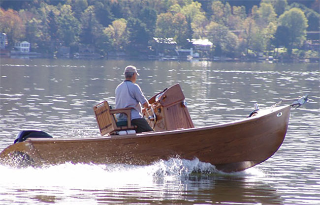 Simmons Sea Skiff Replica